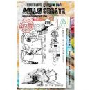 AALL and Create Clear A5 Stamp Set #370 - The Great Outdoors by Tracy Evans